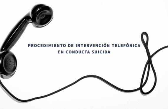 Intervención telefónica en conducta suicida
