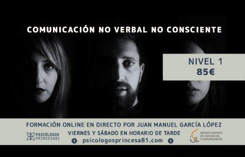 Curso online comunicación verbal no consciente